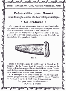 Pirmais sieviešu prezervatīvs