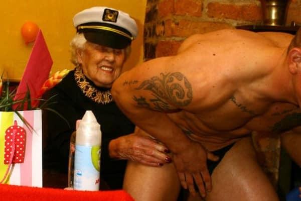 Lap dance in the nursing home